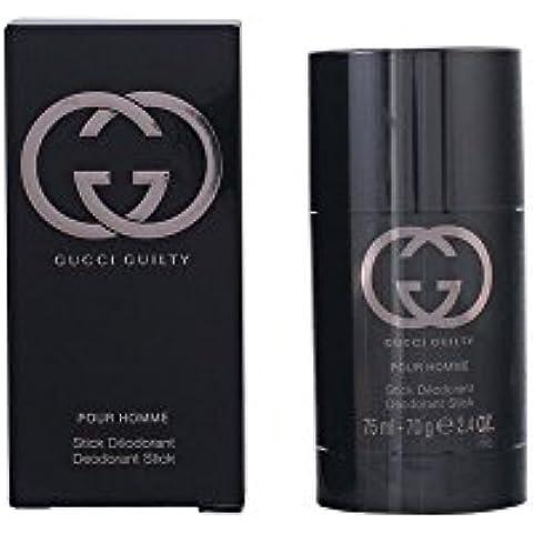 Gucci Guilty - Desodorante de barra para hombres, 75ml, 70g, 2.4oz
