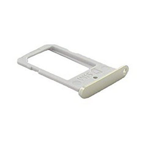 Samsung SM-G925F Galaxy S6 Edge Simkartenhalter Schlitten, Sim Card Holder Tray, Gold