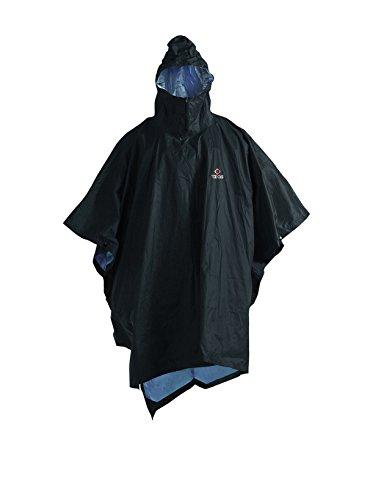 Ferrino poncho 130 CM rouge pluie poncho pluie protection Capuche Boutons-pression randonnée tou