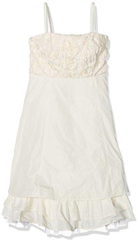 G.O.L. Mädchen Kleider Taft-Ballkleid, Elfenbein (Creme 60), 176 (Herstellergröße:176)