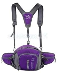 Brand New Alcoa Prime Multi-function Outdoor Sports Backpack Fanny Waist Pack Hip Bum Bag Purple