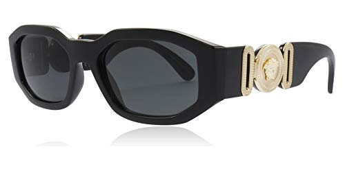 Ray-Ban Unisex-Erwachsene 0VE4361 Sonnenbrille, Schwarz (Black), 53