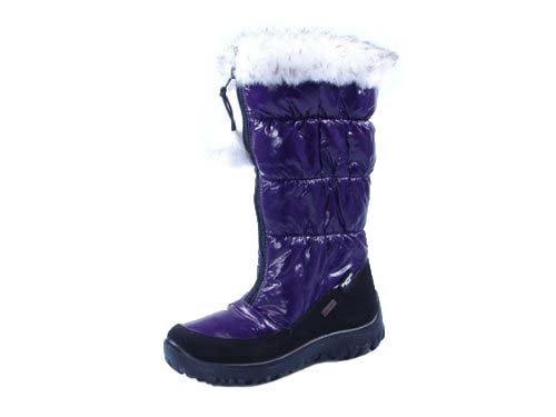 & pour fille Heavenly Feet Secret Chaud Hiver Bottes de snowboard Violet - violet