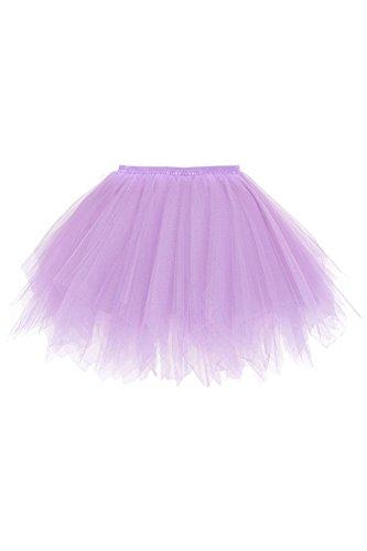 50er Kurz Retro Petticoat Tutu Rock Reifrock Ballett -