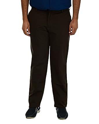 PAN America Men's Straight Trouser (895_38_Green, Green, 38)