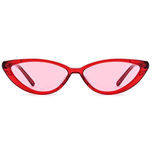 New uv400 kleinen Rahmen polarisierte Sonnenbrille Mode dreieck Brille weiblich Retro Platte männlich schmale cat Eye Sonnenbrille Brille