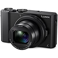 "Panasonic Lumix - Cámara compacta digital de 20.1 MP (4K, Light Speed con DFD, vídeo Full-HD 60p, WiFi, Post Focus, objetivo Leica DC Vario-ummilux, sensor 1"", F1.4-2.8, LCD de 3"" abatible 180°) negro"