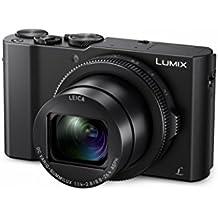 "Panasonic Lumix - Cámara compacta digital de 20.1 MP (4K, Light Speed con DFD, vídeo Full-HD 60p, WiFi, Post Focus, objetivo Leica DC Vario-ummilux, sensor 1"", F1.4-2.8, LCD de 3"" abatible 180°) negro"