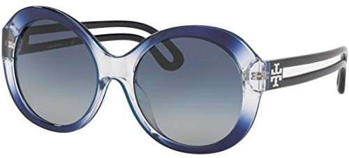 Tory Burch Sonnenbrillen TY 9053U Blue/Blue Shaded Damenbrillen (Tory Sonnenbrille Burch)