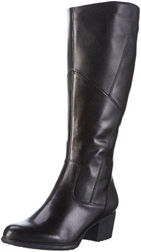 Tamaris 255 - Stivali Alti da Donna, colore Nero (BLACK 001), taglia 38 EU