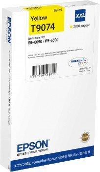 Preisvergleich Produktbild Epson C13T907440 Tintenpatrone, WF-6xxx, XXL, gelb