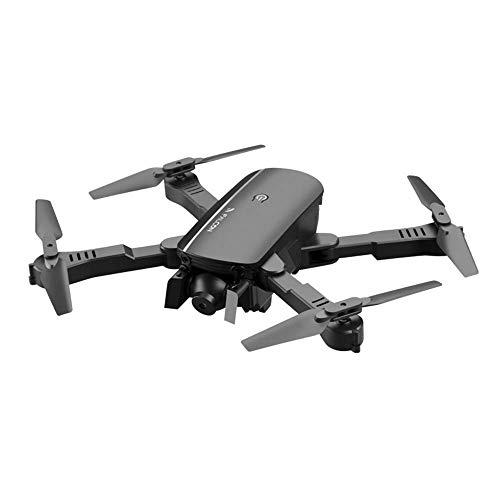 YWT Cuadricóptero Remoto con cámara 4K HD Drone WiFi Plegable, retención de Altura, Control de Gestos, Sígueme, Flip 3D, Retorno de un botón, Control de Aplicaciones, con Gafas VR