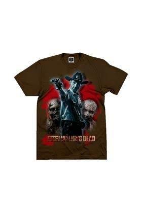SD Toys T-Shirt Braun Boy Rick Grimes - The Walking Dead - XL (Boy Toy-shirt)