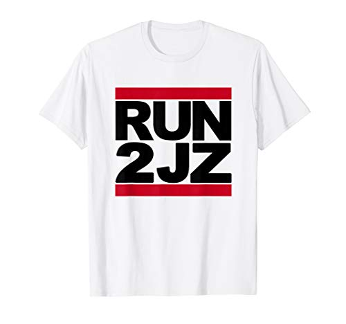 RUN 2JZ Hip Hop Logo T-Shirt Für Herren, Damen und Kinder - Fun Shirt Run