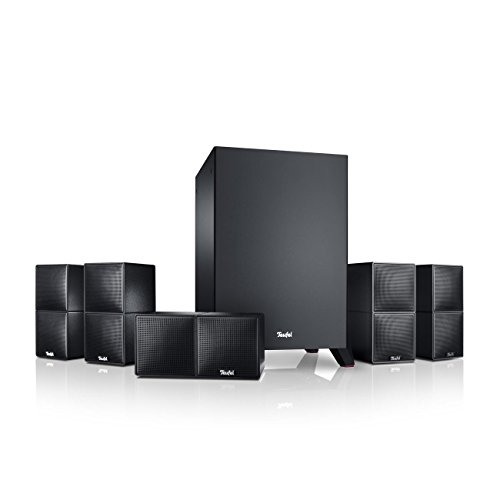 Teufel Cubycon Schwarz Heimkino Lautsprecher 5.1 Soundanlage Kino Raumklang Surround Subwoofer Movie High-End HiFi Speaker