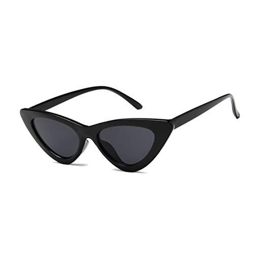 LouiseEvel215 Vintage dreieck cat Eye Frauen Sonnenbrille persönlichkeit Sonnenbrille pc Rahmen Harz linse Reise uv400 Brillen Sonnenbrillen