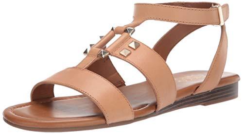 Franco Sarto Damen Genova Flache Sandale, Nude, 40 EU (Sarto Frauen Schuhe Franco)