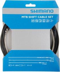 shimano-spares-mtb-gear-set-cable-black