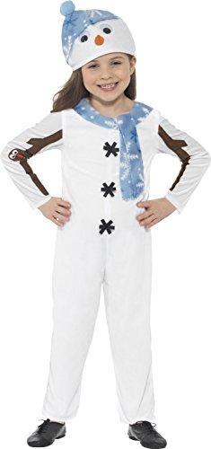 Imagen de smiffy 's–disfraz de muñeco de nieve infantil