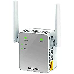Netgear EX3700 Ripetitore WiFi, Range Extender Universale, Access Point, Antenne Esterne, AC Dual Band, 750 Mbps