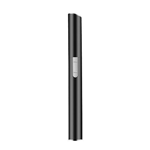 LEDMOMO Mini Augenbraue Trimmer Rasierer elektrische Augenbraue Rasierer Remover für Damen (schwarz)