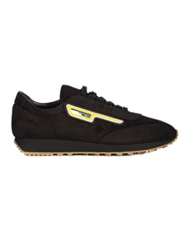 Prada Luxury Fashion Herren 2EG286008F0002 Schwarz Sneakers | Herbst Winter 19