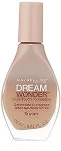 MAYBELLINE Dream Wonder Fluid Touch Foundation - Ivory 15