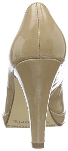 Tamaris 22466, Escarpins Femme Beige (Nude Patent 253)