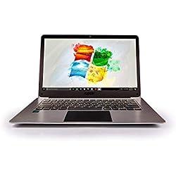 """14.1"""" Full HD Windows 10 Laptop - 4GB RAM, T90B+ Pro Model Lapbook, Intel 64-bit USB 3.0, 5GHz WIFI (Dual-Band WIFI) 2x WIFI speeds, Supports 256GB tf-card and 1TB HDD (32GB)"""