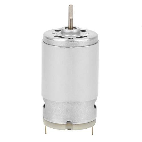 3-12-V-Mikromotor , D-Wellen-Mikromotor Hochgeschwindigkeits-Rundmotor mit langer Welle vom Typ D mit hoher Leistung und stabiler Drehzahl für den Motor (Motor Airsoft Lang)