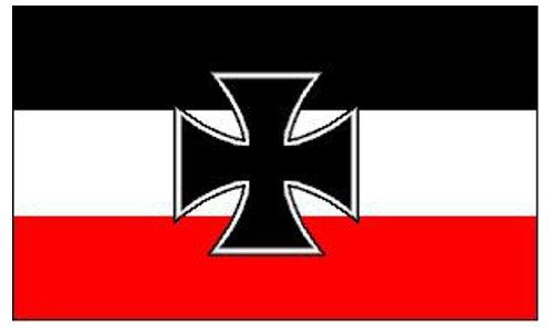 Deutschen Navy Flag 5ft x 3ft -