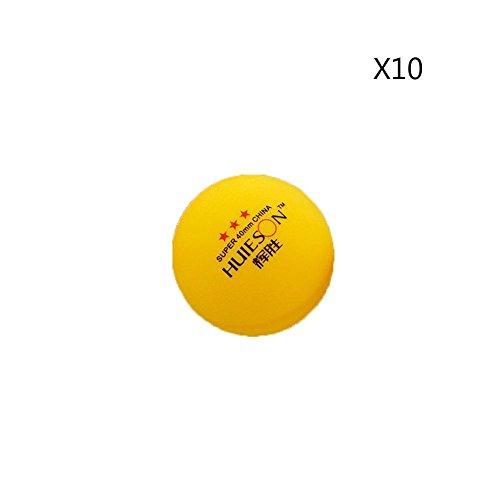 runakan 10PCS/Tasche Professionelle Tisch Tennis Ball 40mm Durchmesser 3Sterne ping pong bälle für Training Wettkampf