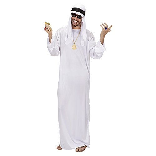 Widmann - Erwachsenenkostüm Scheich (Beduinen Kostüm)