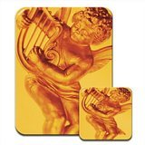 ornate-golden-angel-jugando-harp-premium-mousematt-y-posavasos