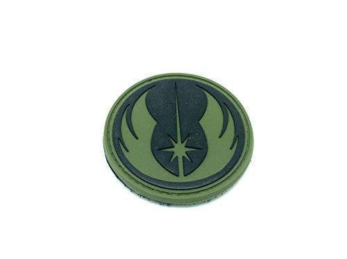 Star Wars Orden der Jedi PVC Airsoft Klett Patch grün (Star Wars Pvc-patch)