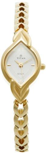 Titan Raga Analog Silver Dial Women's Watch - NE2252YM01