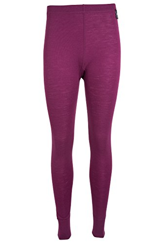 Mountain Warehouse Merino Damenhose thermo unterwäsche Base Layer Funktion Tights Beerenton
