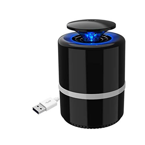 SAN_T Moskito Lampe elektronischer USB-Moskito-Mörder ohne Strahlung Fotokatalysator LED-Moskito-Mörder Geeignet für Zuhause und Büro, Größe: 141 * 212mm (Farbe : Schwarz)