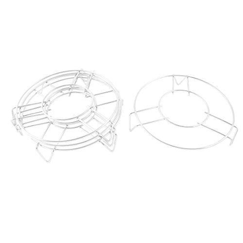 sourcingmap Kochgeschirr, 3 Beine rund Rost zum Dämpfen, Dampfgarer, Grill, 6, 5 cm Durchmesser