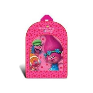 311g6Fdh5JL. SS300  - Producto oficial de trols Poppy Dance Hug cantar Light Up Flashing rosa niñas mochila bolso de escuela