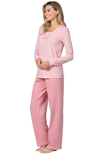 PyjamaGram PJ Sets für Frauen, Rosa - Pink - Large / 12-14 US -