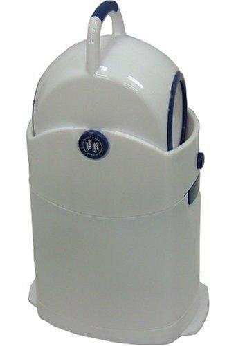 Geruchsdichter Windeleimer Diaper Champ regular blau – für normale Müllbeutel - 4