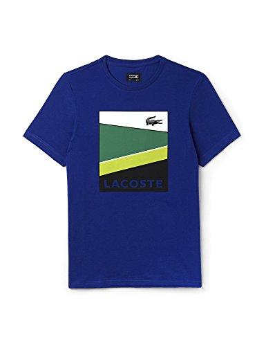 Herren Tennisshirt Kurzarm Blau