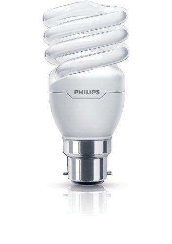 Philips 8727900925807 Ampoule spirale B22 économie d'énergie Blanc chaud 15 W