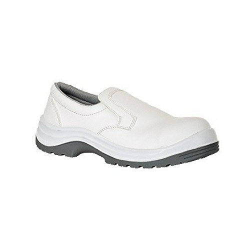 Portwest FW89-Phoenix antiscivolo scarpe 4/37, FW89WHR47 Bianco