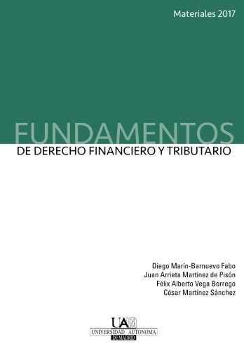 Fundamentos de Derecho Financiero y Tributario. Materiales 2017