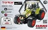 RC Metallbaukasten, CLAAS AXION 850,Traktor, ferngesteuert, 734 Teile, Tronico, Baukasten inklusive Werkzeug, Metallbaukasten mit Motor