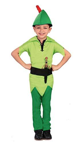 Costume Peter, taglia 3/4 anni