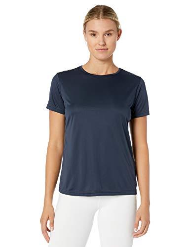 Craft Essential T-Shirt für sportliche Performance, Feuchtigkeitstransport, leichtes technisches T-Shirt, Damen, Navy, Large -