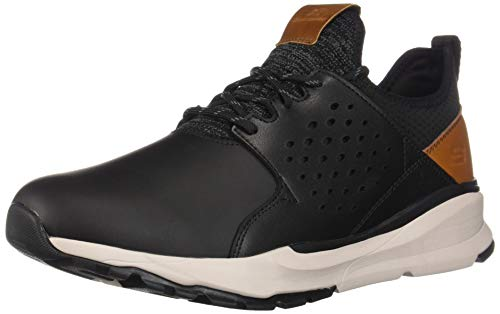 Skechers relven-hemson, sneaker uomo, nero (black blk), 43 eu